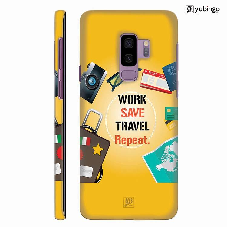 Travel Lover Collection Back Cover for Samsung Galaxy S9+ (Plus)