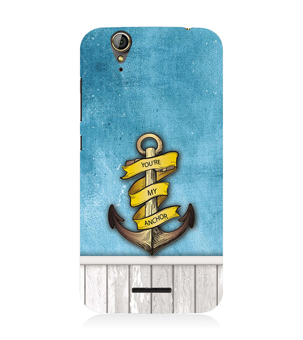 You Are My Anchor Back Cover for Acer Liquid Zade 630