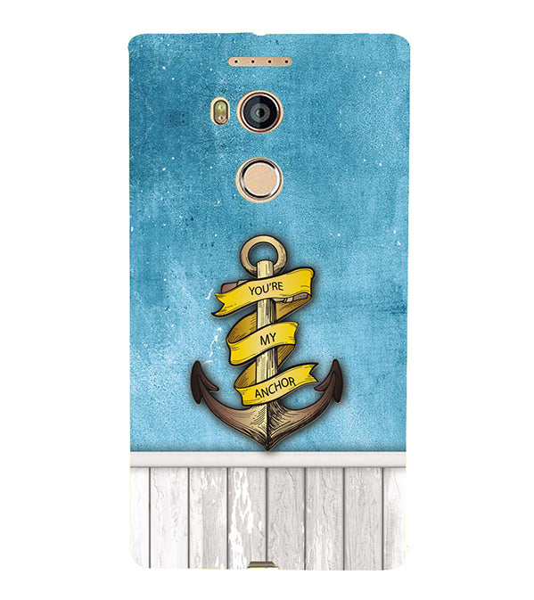 You Are My Anchor Back Cover for Gionee Elife E8