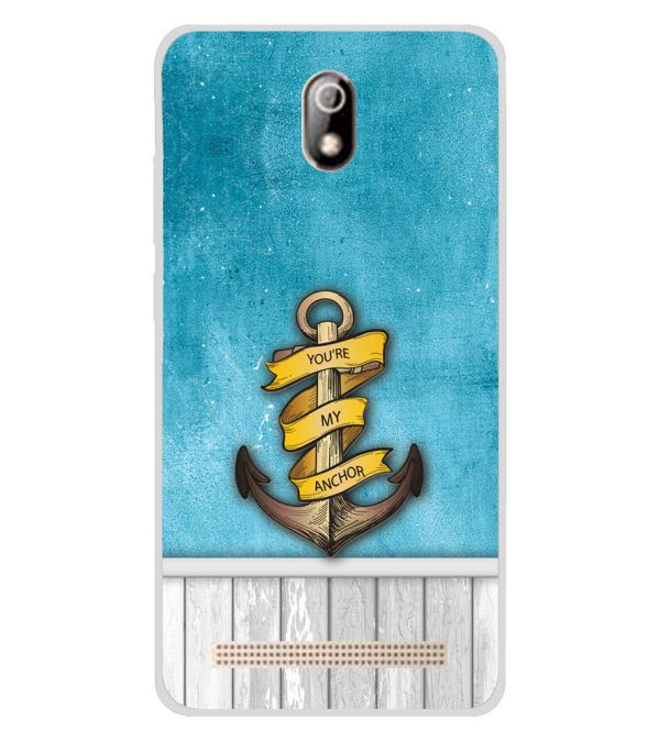 You Are My Anchor Soft Silicone Back Cover for Comio C1 Pro