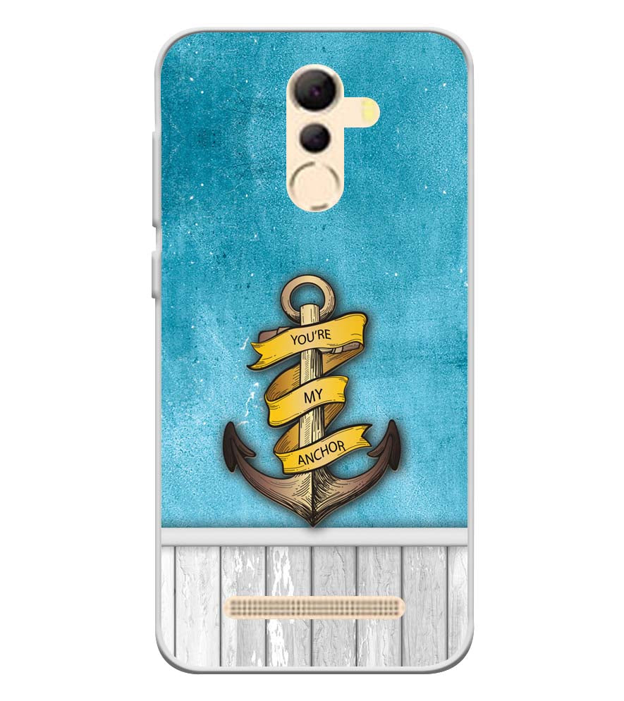 You Are My Anchor Soft Silicone Back Cover for Coolpad Mega 5A