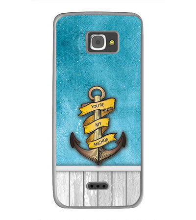 You Are My Anchor Back Cover for InFocus M350