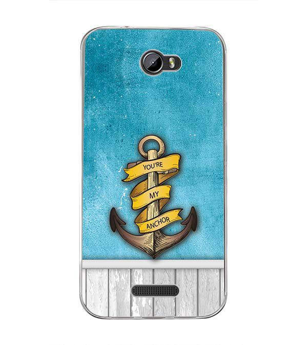You Are My Anchor Back Cover for Intex Lion 3