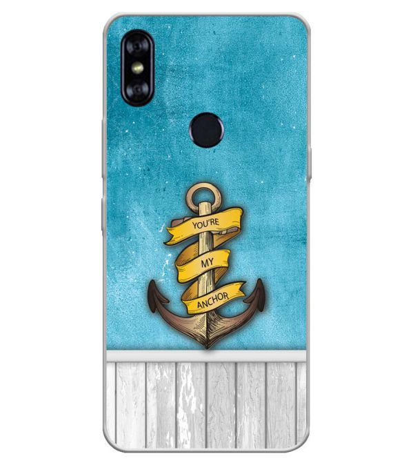 You Are My Anchor Soft Silicone Back Cover for Itel A62