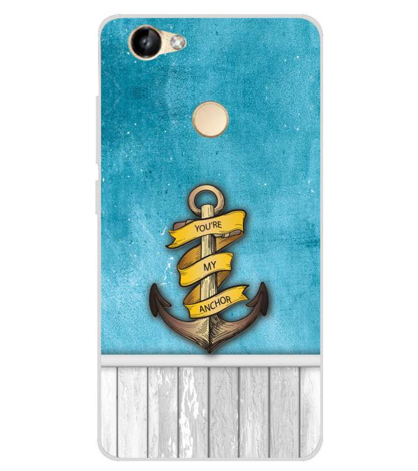 reputable site 12331 bf2ba You Are My Anchor Soft Silicone Back Cover for Itel Wish A41 Plus