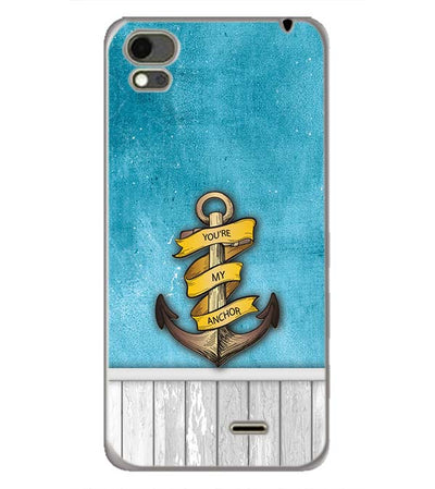 You Are My Anchor Back Cover for Karbonn Aura Note 4G