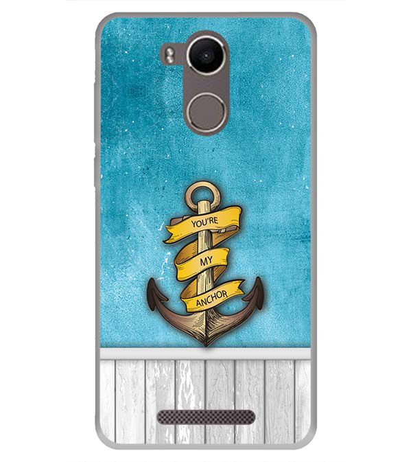 You Are My Anchor Back Cover for Karbonn K9 Kavach 4G