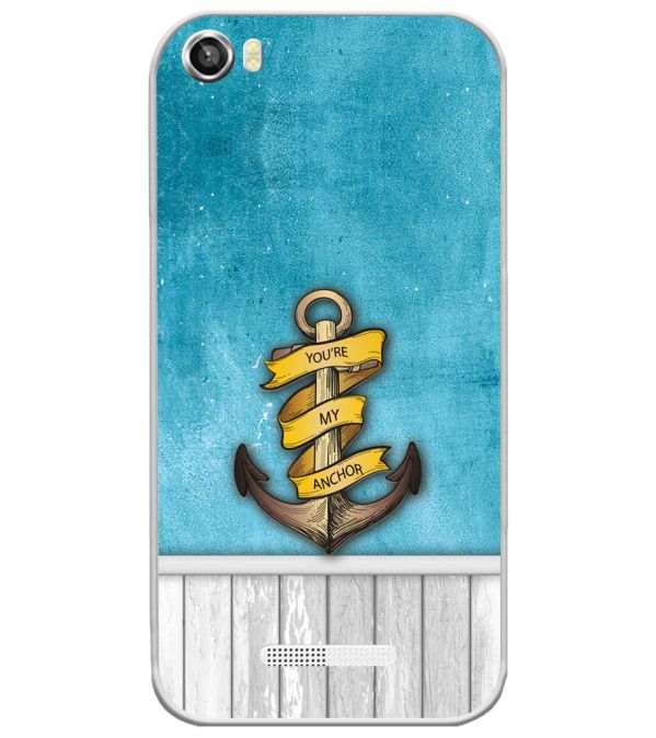 You Are My Anchor Soft Silicone Back Cover for Lava Iris X8