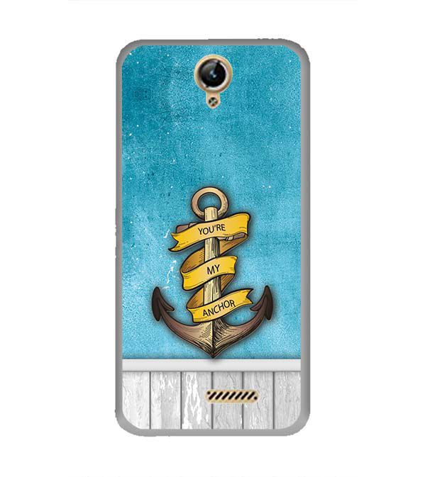 You Are My Anchor Back Cover for Lephone W10