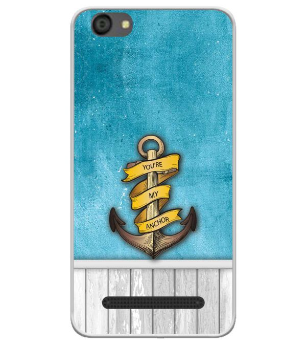 You Are My Anchor Soft Silicone Back Cover for LYF Flame 5