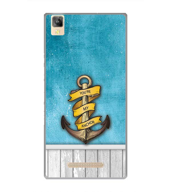 You Are My Anchor Back Cover for Panasonic Eluga A2