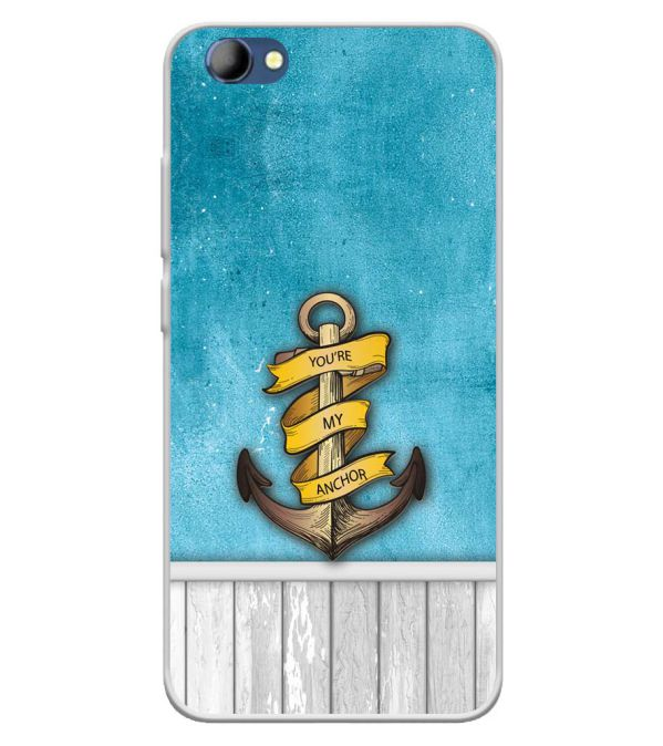 You Are My Anchor Soft Silicone Back Cover for Panasonic Eluga I4