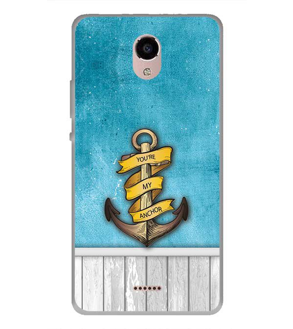 You Are My Anchor Back Cover for Panasonic Eluga RayX
