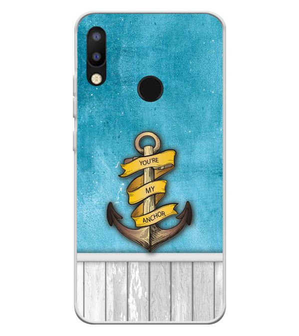 You Are My Anchor Soft Silicone Back Cover for Tecno Camon i2