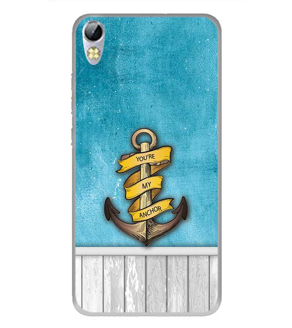 You Are My Anchor Back Cover for Tecno I3 Pro