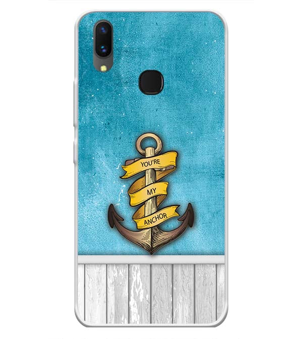 You Are My Anchor Soft Silicone Back Cover for Vivo X21