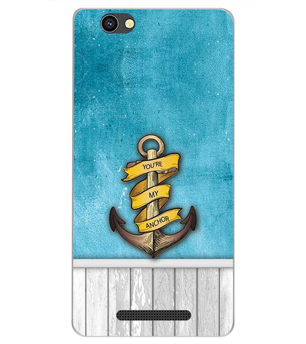 best sneakers 9af41 a533a You Are My Anchor Back Cover for Xolo Era 4G
