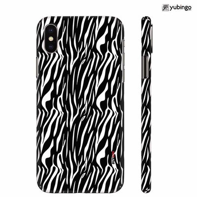 Zebra Stripes Back Cover for Apple iPhone X