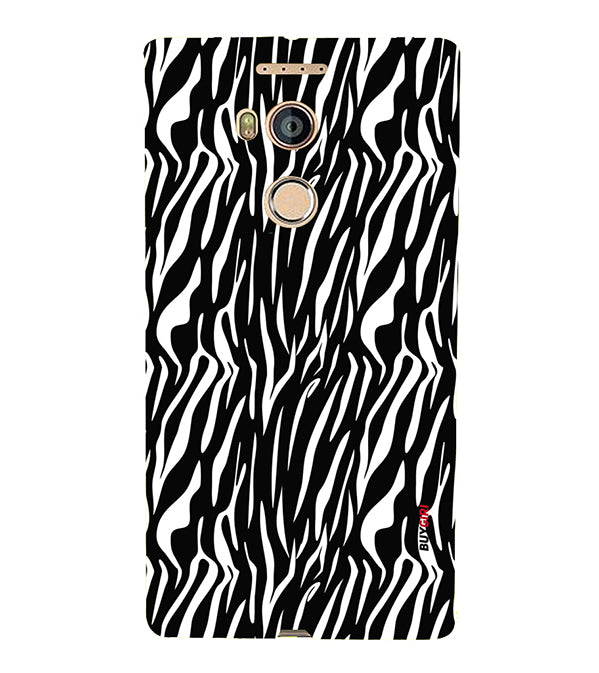 Zebra Stripes Back Cover for Gionee Elife E8