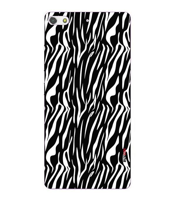 Zebra Stripes Back Cover for Gionee Elife S7