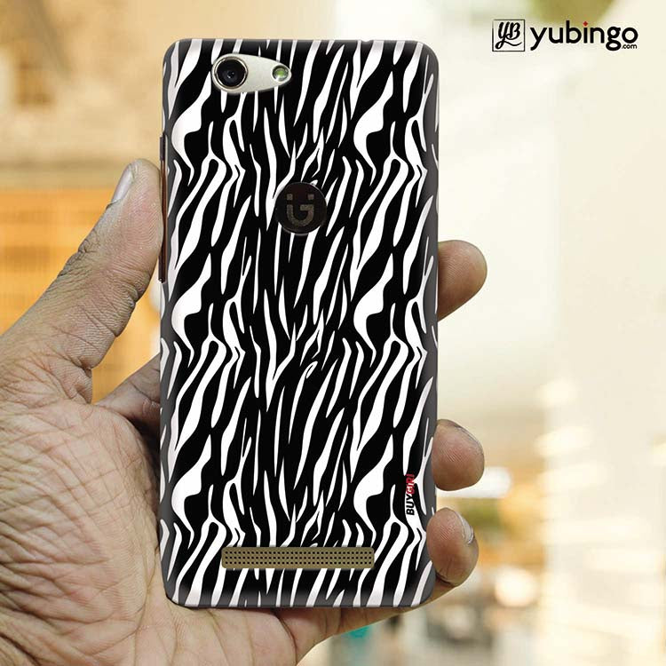 Zebra Stripes Back Cover for Gionee F103 Pro