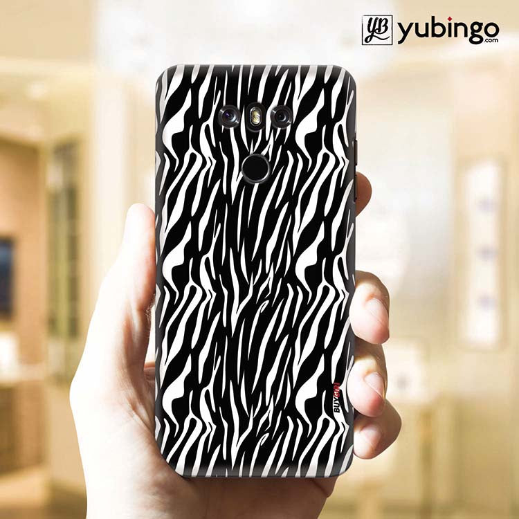 Zebra Stripes Back Cover for LG G6