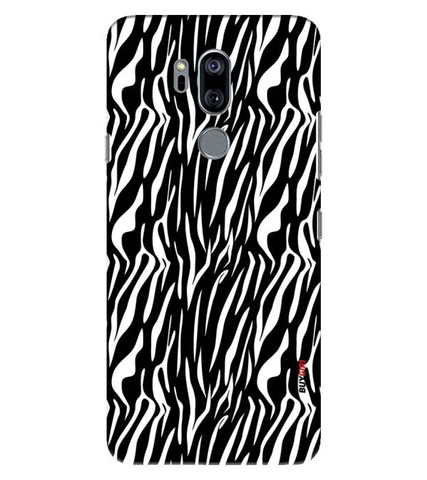 Zebra Stripes Back Cover for LG G7