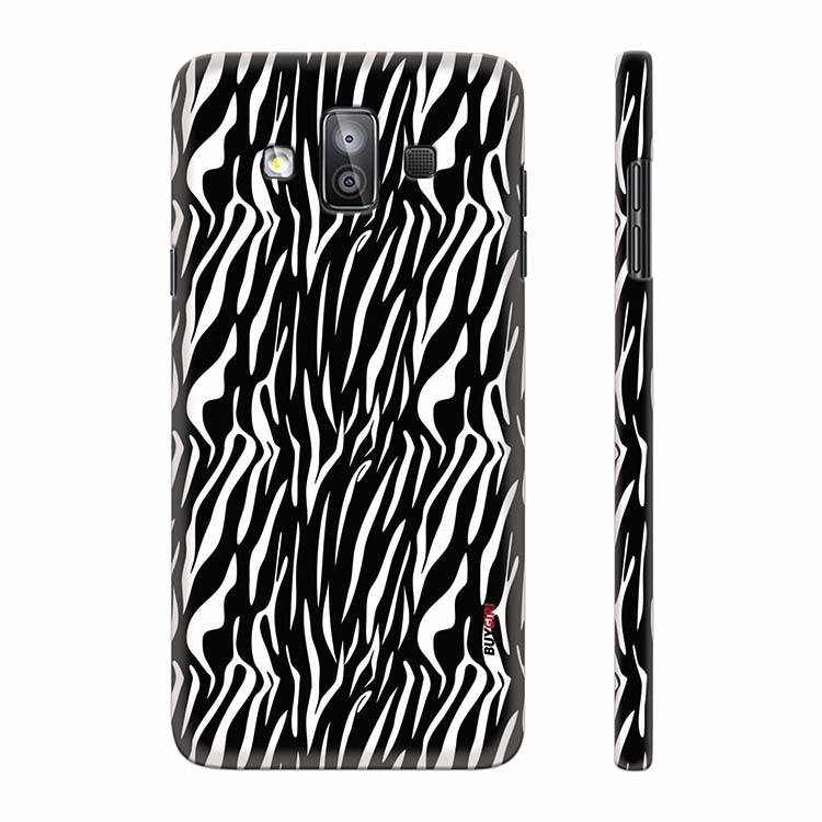buy online 89edd 7a4df Zebra Stripes Back Cover for Samsung Galaxy J7 Duo