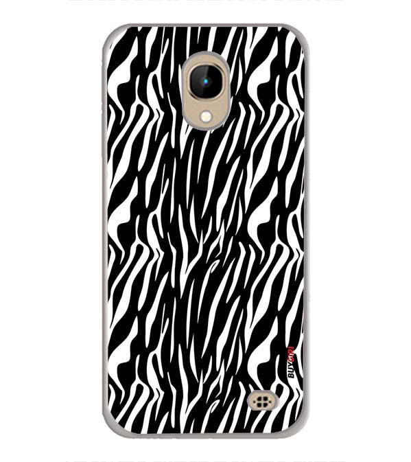 Zebra Stripes Back Cover for InFocus A2