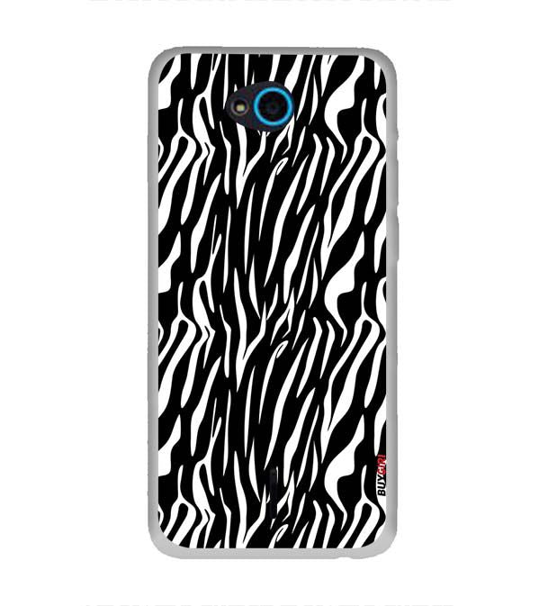 Zebra Stripes Back Cover for InFocus Bingo 21