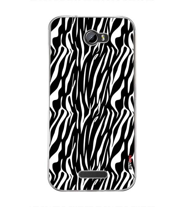 Zebra Stripes Back Cover for Intex Lion 3