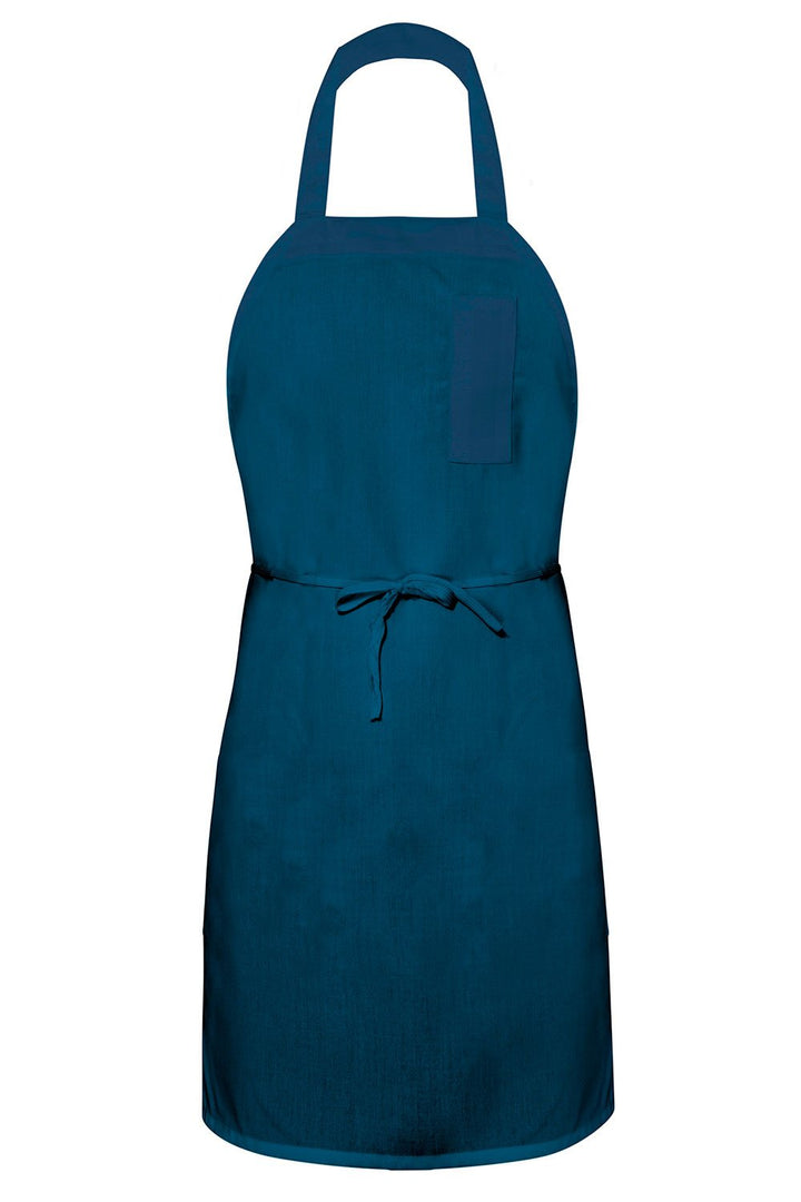 Navy Bib Apron (1 Pencil Pocket)