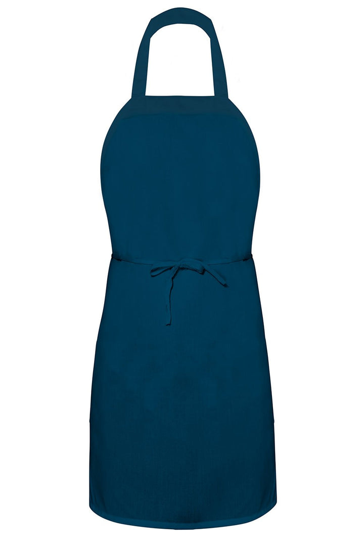 Navy Bib Apron (No Pockets)