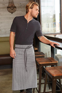 Chocolate & Blue Brooklyn Half Bistro Apron