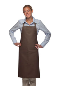 Brown 1 Pocket Adjustable Butcher Apron