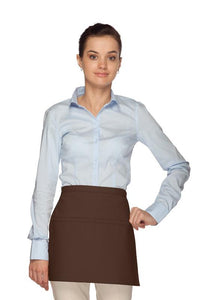 Brown Square Waist Apron