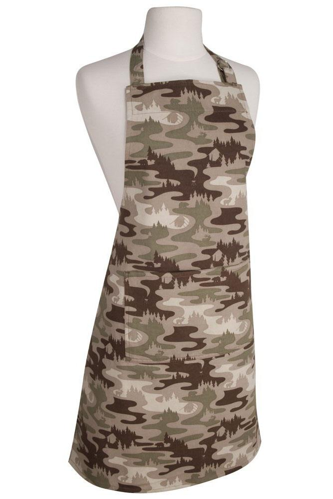 Camouflage Modern Apron