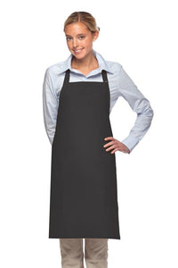 Charcoal 2 Patch Pocket Adjustable Bib Apron