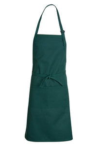 Hunter Green Premium Adjustable Apron (1 Split Pocket)