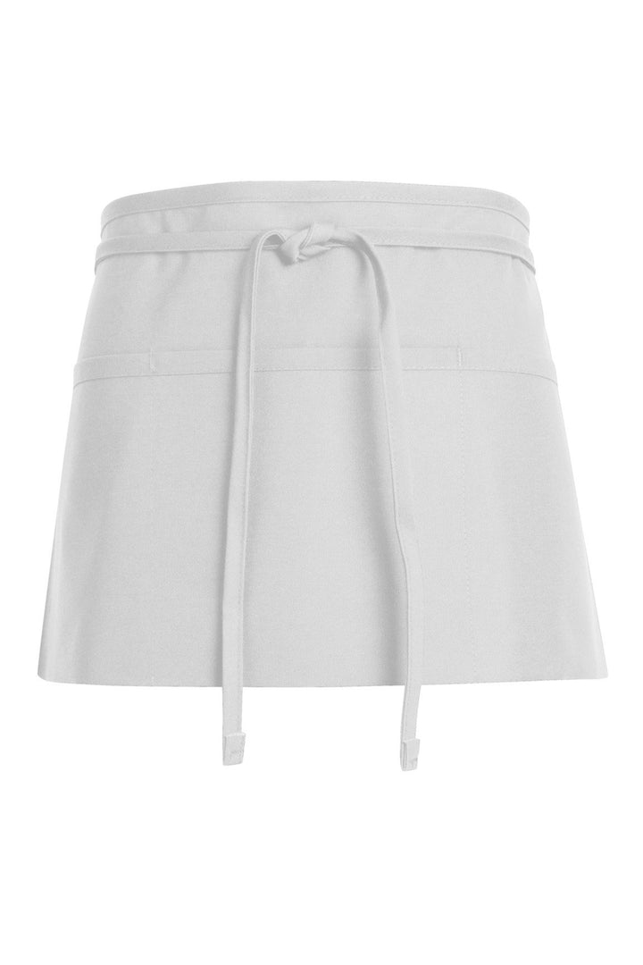 White Waist Apron (3 Pockets)
