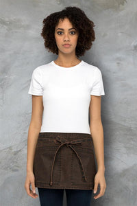 Denver Chocolate Rust Waist Apron