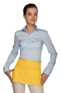 Yellow Standard Waist Apron (2 Pockets)
