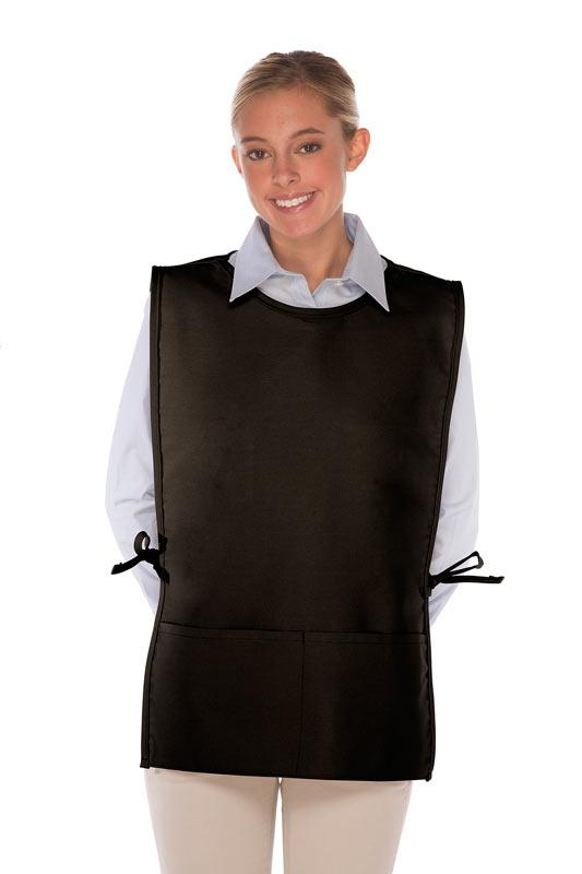 Squared Cobbler With Rounded Neck Apron (2 Pockets)