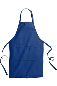Royal Blue Butcher Apron (2 Pockets)