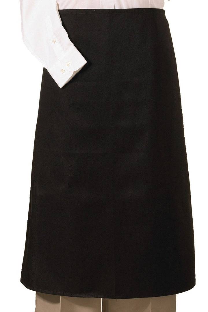 Black Bistro Apron (No Pockets)