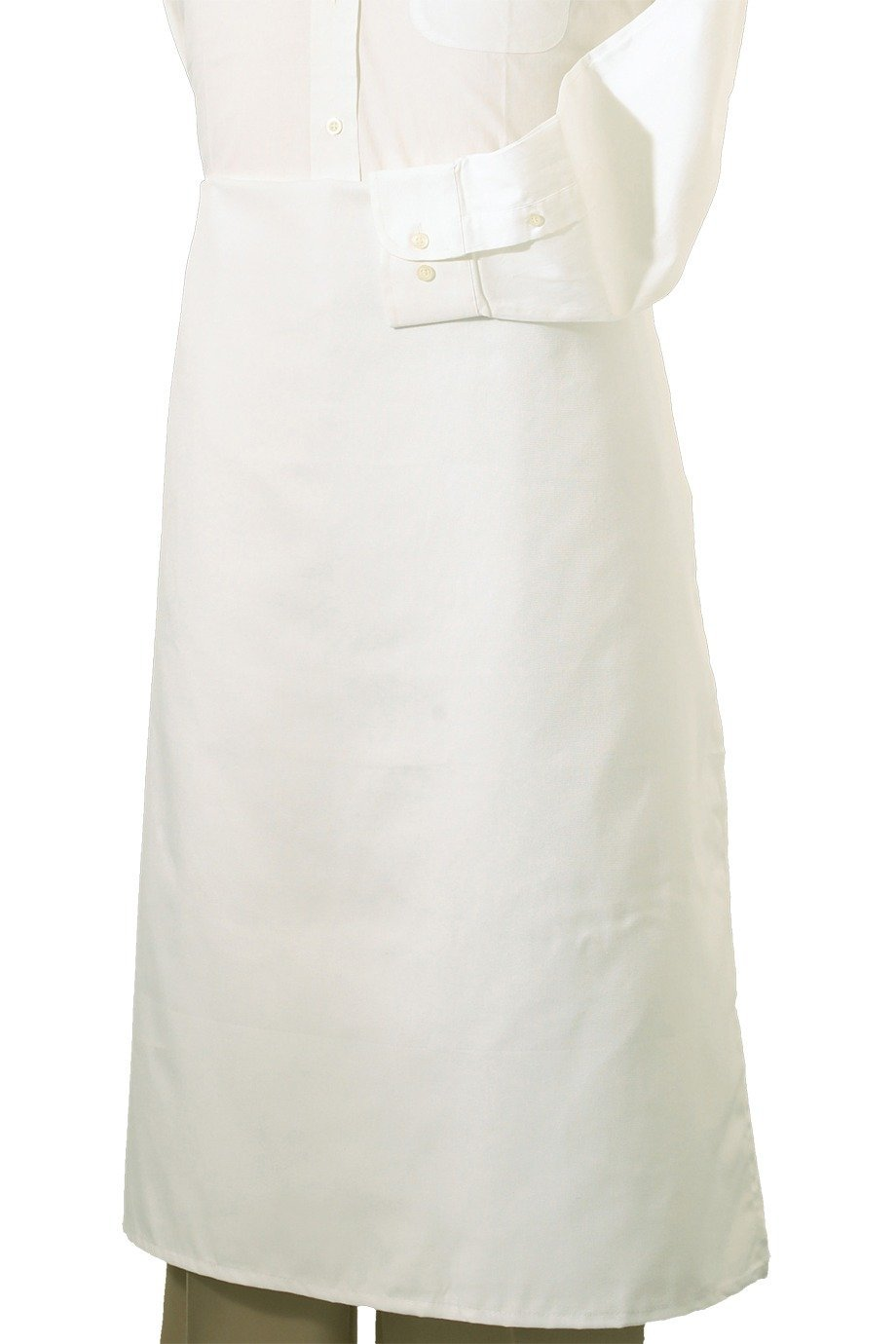 White Bistro Apron (No Pockets)