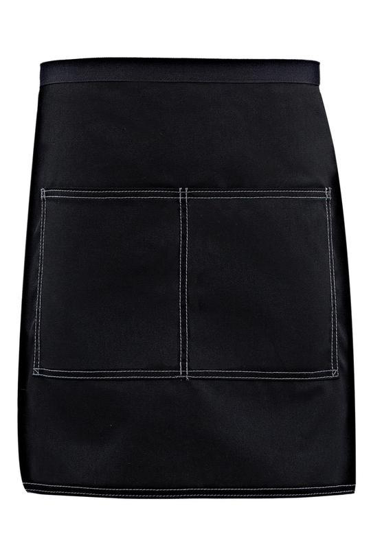 Black City Market Everyday Half Bistro Apron