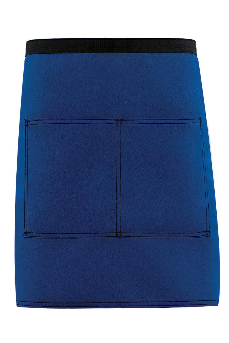Royal Blue City Market Everyday Half Bistro Apron