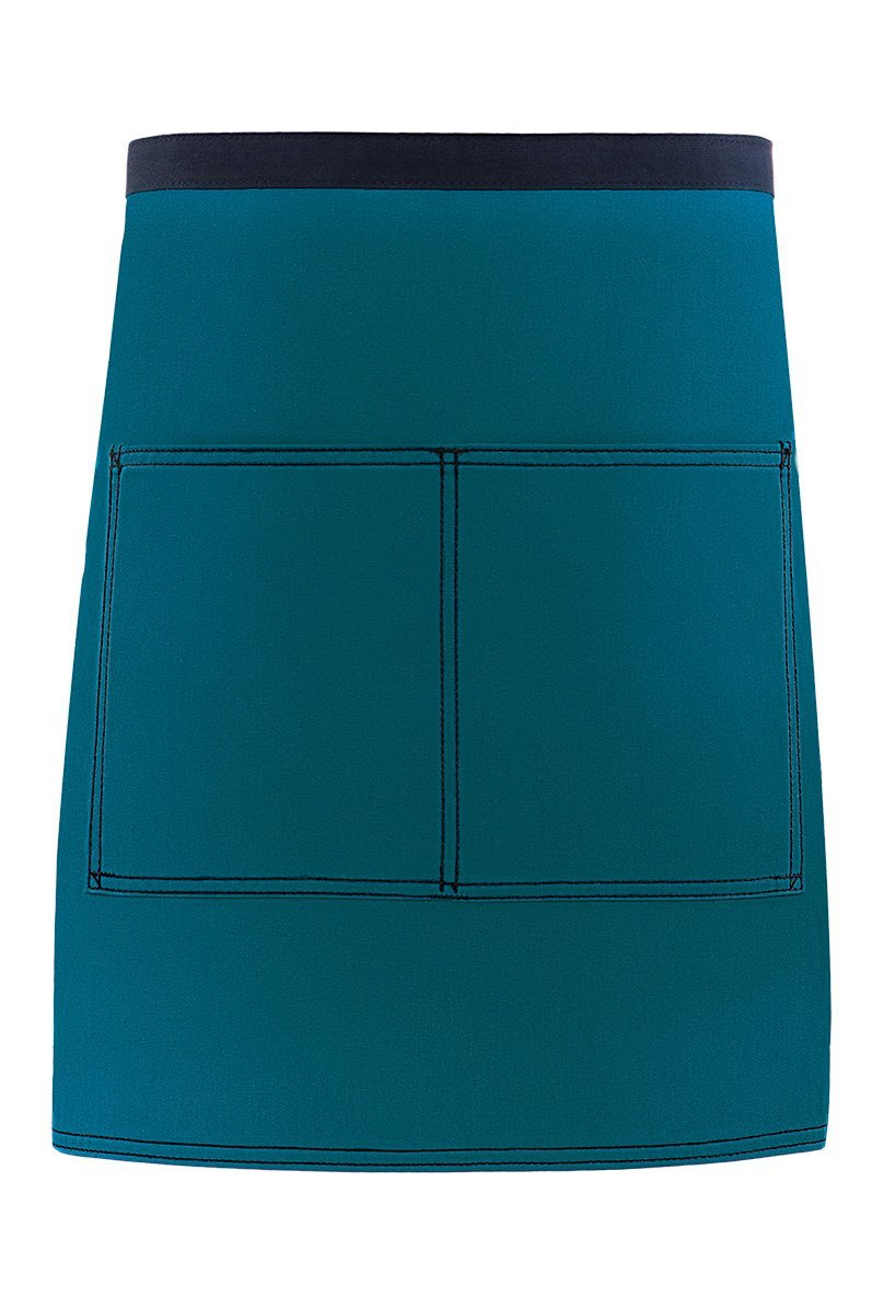 Teal City Market Everyday Half Bistro Apron