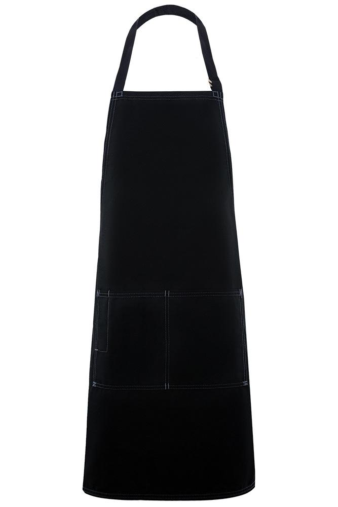 Black City Market Everyday Long Bib Apron